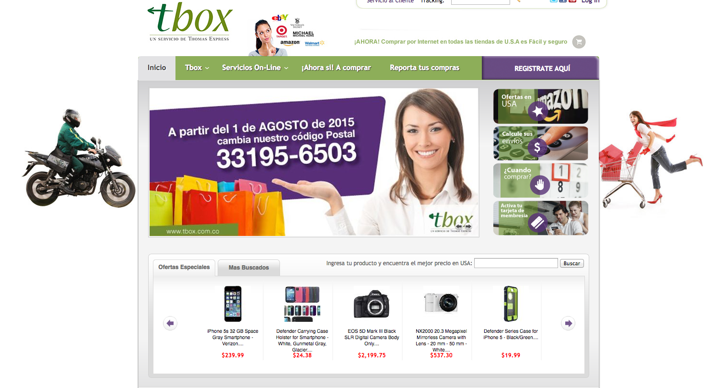 Iblesoft Inc Tbox   Un Servicio de Thomas Express