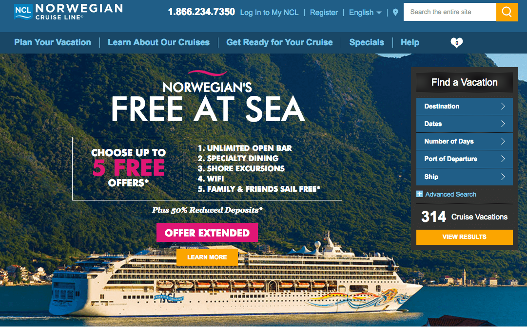 Iblesoft Inc Norwegian Cruise Line